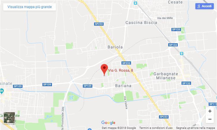 come raggiungere mecgru srl a Garbagnate Milanese